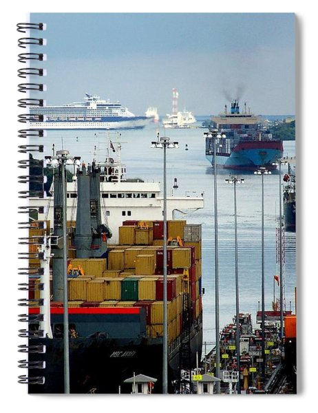 Panama Express Spiral Notebook