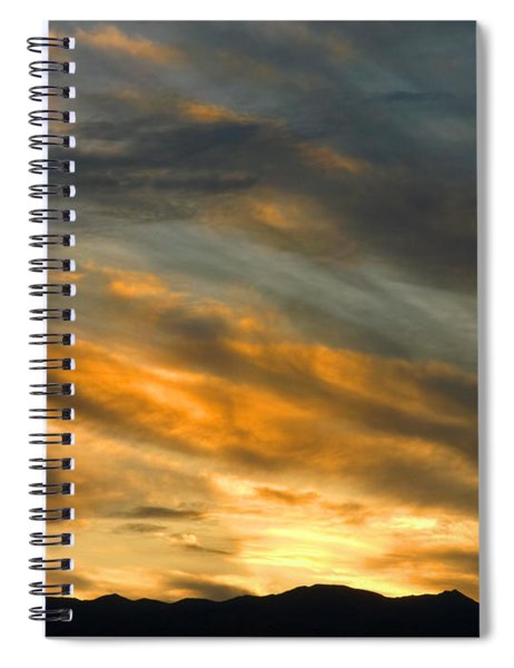 Panamint Sunset Spiral Notebook