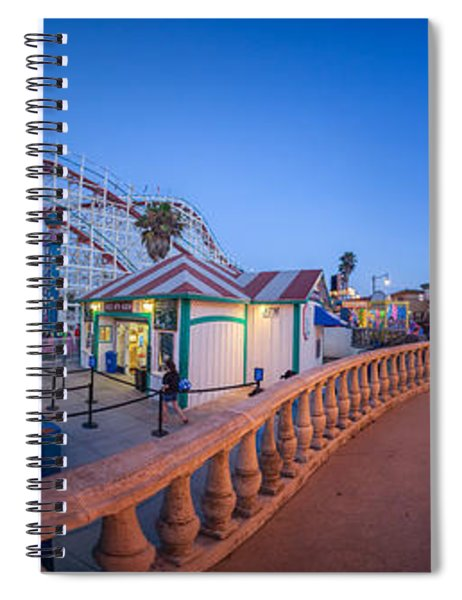 Panorama Giant Dipper Goes 360 Round And Round Spiral Notebook