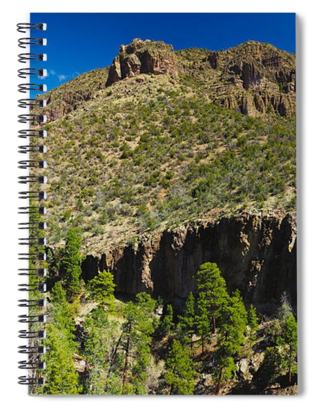 Panorama Of Dome Wilderness, San Miguel Spiral Notebook