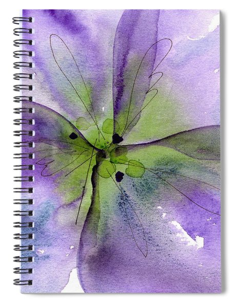 Pansy 1 Spiral Notebook
