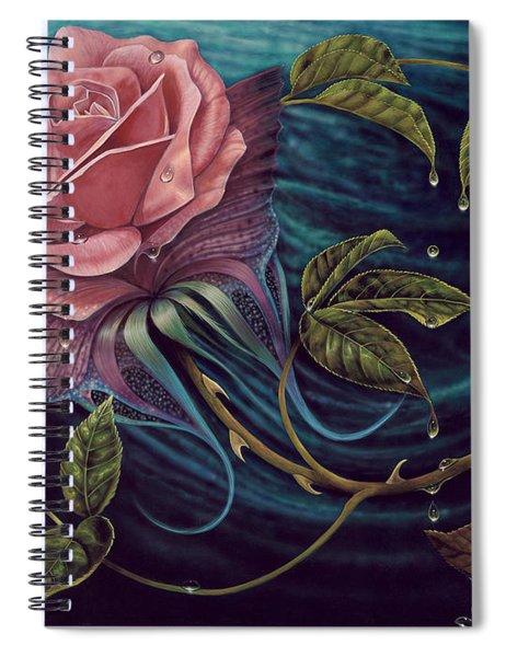 Papalotl Rosalis Spiral Notebook