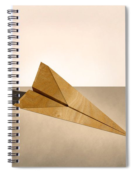 Paper Airplanes Of Wood 15 Spiral Notebook