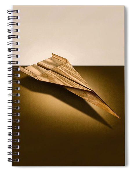 Paper Airplanes Of Wood 3 Spiral Notebook