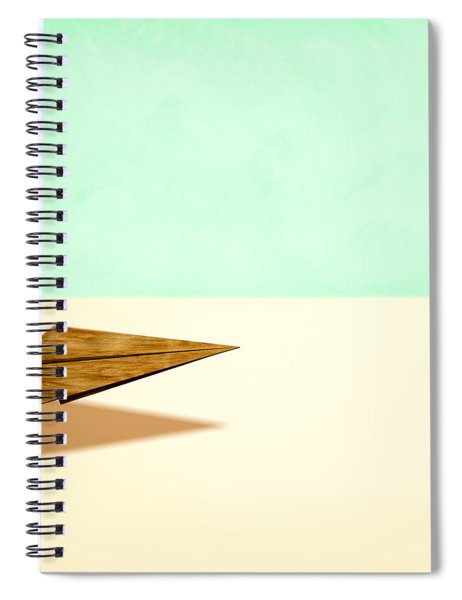 Paper Airplanes Of Wood 9 Spiral Notebook