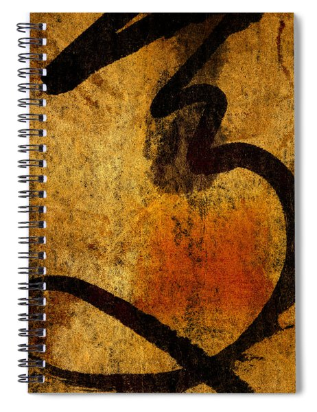Paper Ink And Cement Spiral Notebook