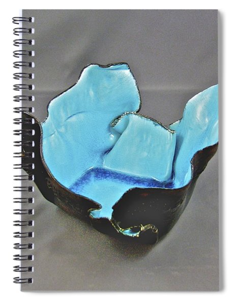 Paper-thin Bowl  09-001 Spiral Notebook