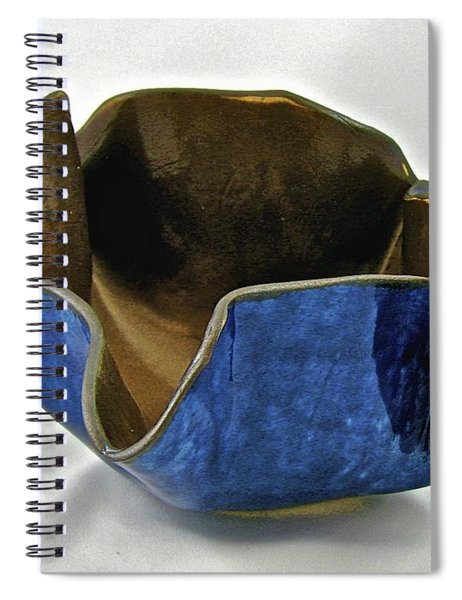 Paper-thin Bowl  09-005 Spiral Notebook