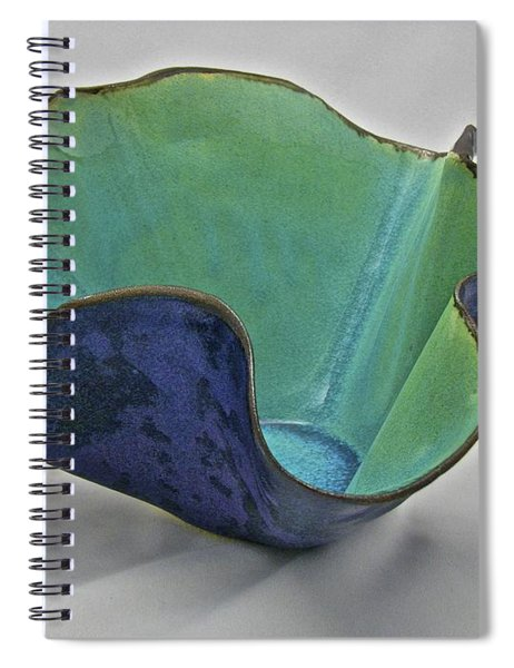 Paper-thin Bowl  09-006 Spiral Notebook