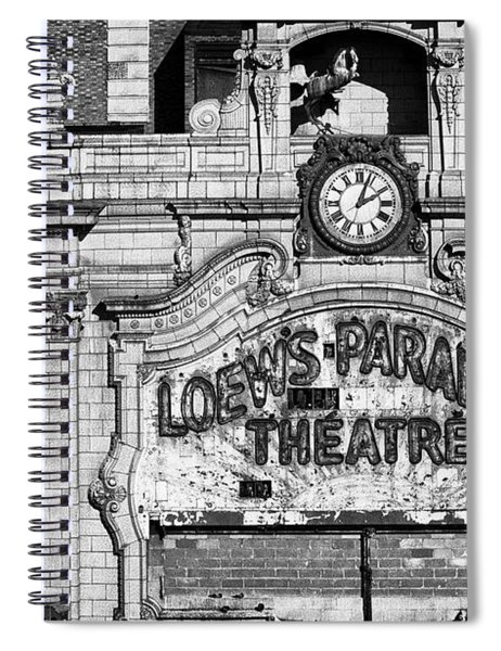 Paradise Movie Theatre Spiral Notebook