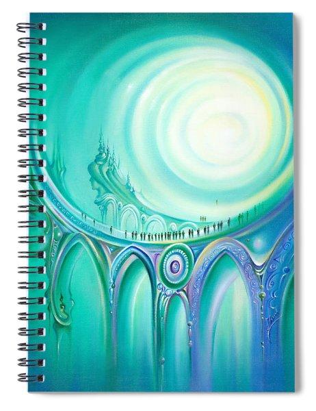 Parallel Ways Spiral Notebook