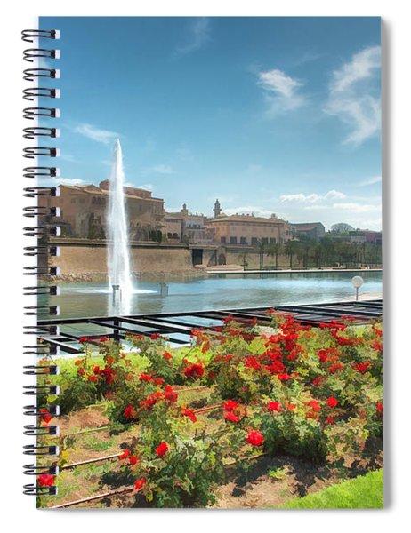Parc De La Mer Mallorca Spain Spiral Notebook