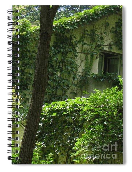 Paris - Green House Spiral Notebook