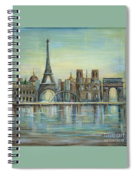Paris Highlights Spiral Notebook