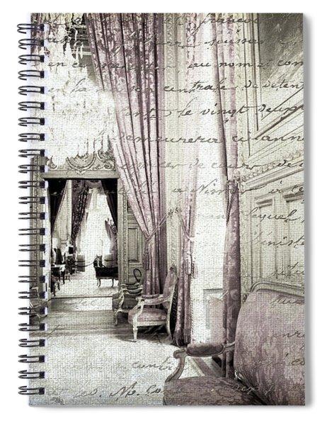 Paris   I Wish I Had Stayed Spiral Notebook