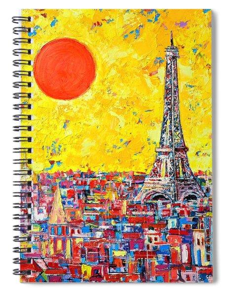Paris In Sunlight Spiral Notebook