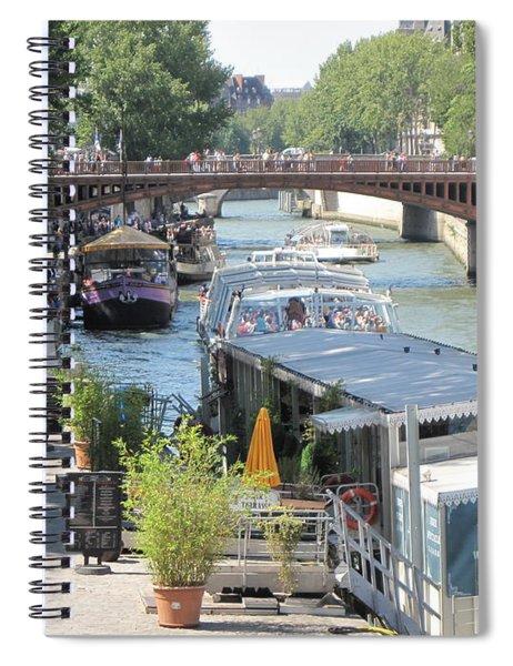 Paris - Seine Scene Spiral Notebook