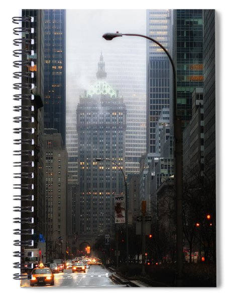 Park Avenue Dawn In Color Spiral Notebook