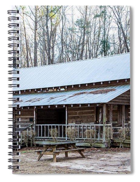 Park Ranger Cabin Spiral Notebook