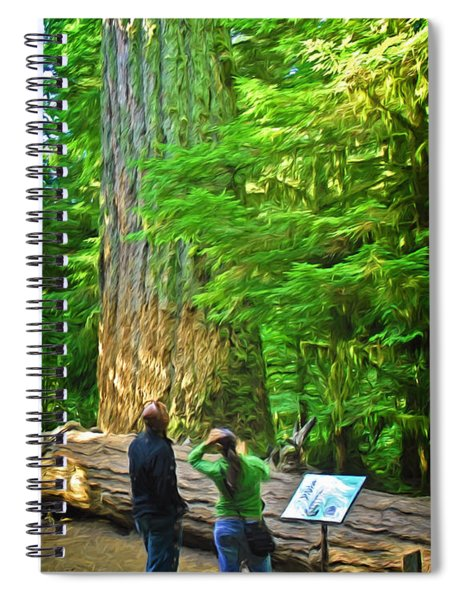 Park Visitors Spiral Notebook