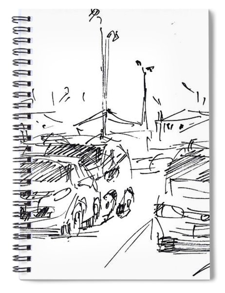 Parking Lot  Spiral Notebook