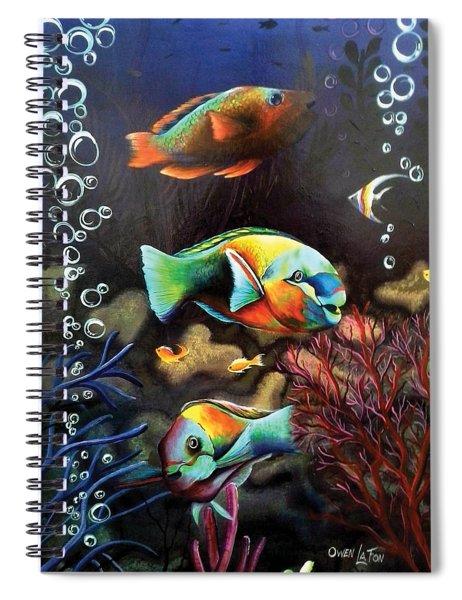 Parrot Fish Spiral Notebook