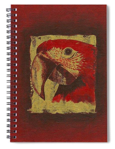 Parrot Spiral Notebook