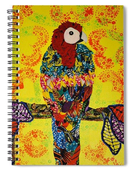 Parrot Oshun Spiral Notebook