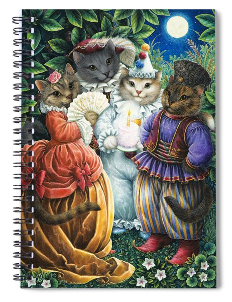 Party Cats Spiral Notebook
