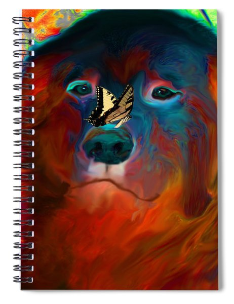 Party Pyrenees Spiral Notebook