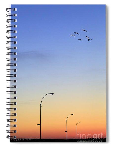 Passage Into Dawn Spiral Notebook