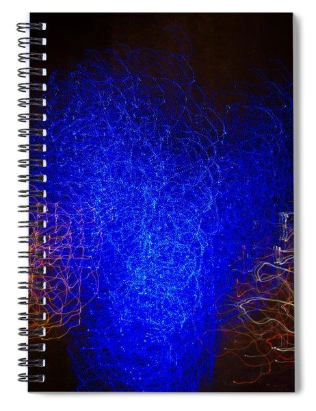 Passing By The Vortex Spiral Notebook