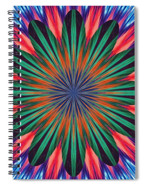 Passion Flower On Venus Spiral Notebook