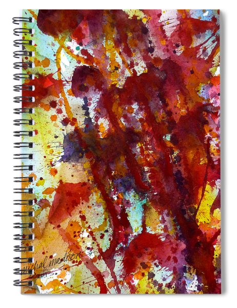 Passion Rising Spiral Notebook