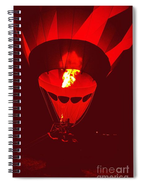 Passion's Flame Spiral Notebook