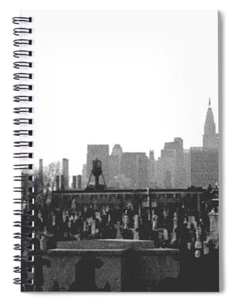 Past Present Future Spiral Notebook