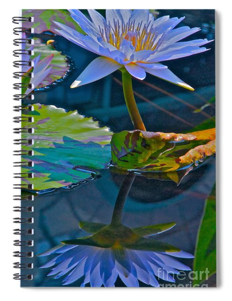Pastels In Water Spiral Notebook
