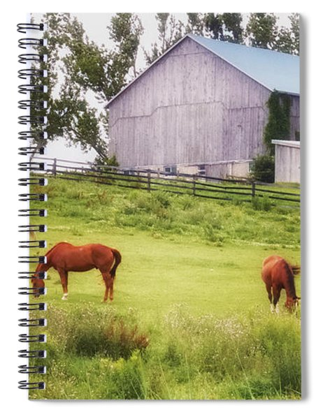 Pasture Spiral Notebook