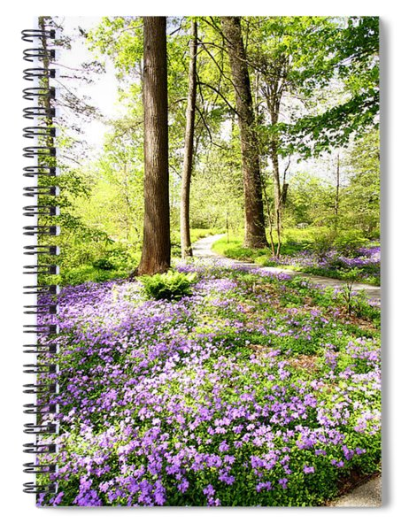 Path Of Serenity Spiral Notebook