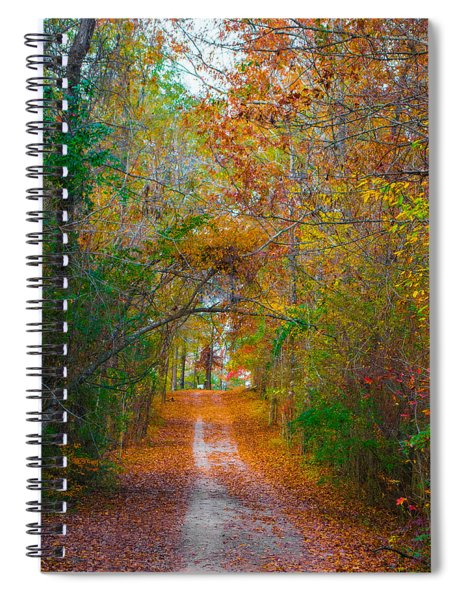 Path To The Fairies Spiral Notebook