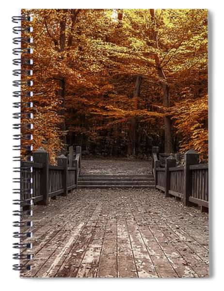 Path To The Wild Wood Spiral Notebook