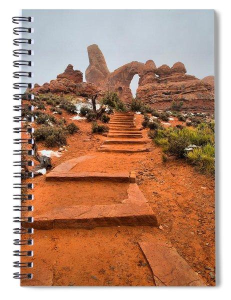 Pathway To Portals Spiral Notebook