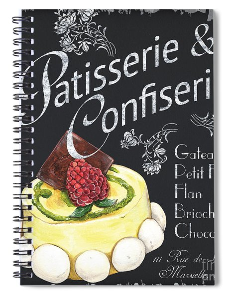 Patisserie And Confiserie Spiral Notebook