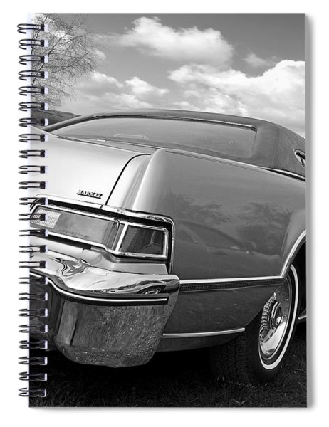 Patriotic Lincoln Continental 1976 Spiral Notebook