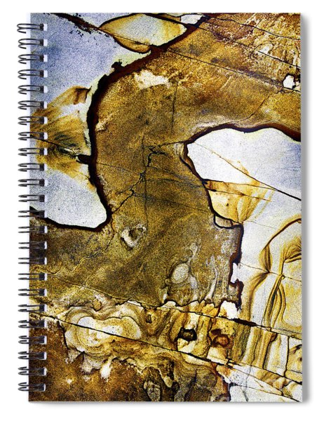 Patterns In Stone - 153 Spiral Notebook