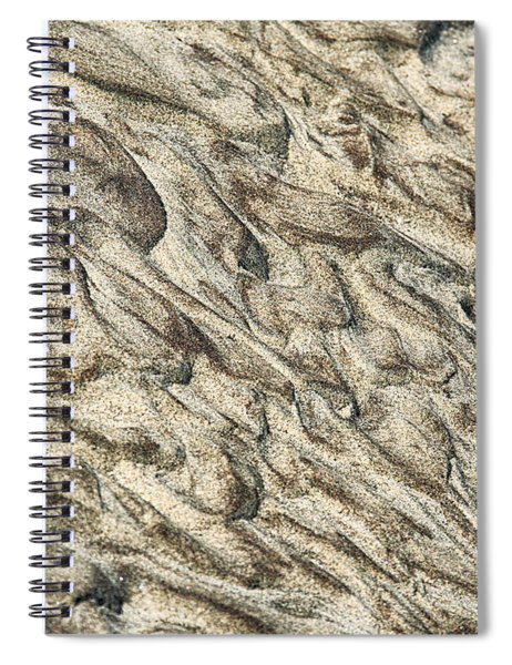 Patterns In Sand 2 Spiral Notebook
