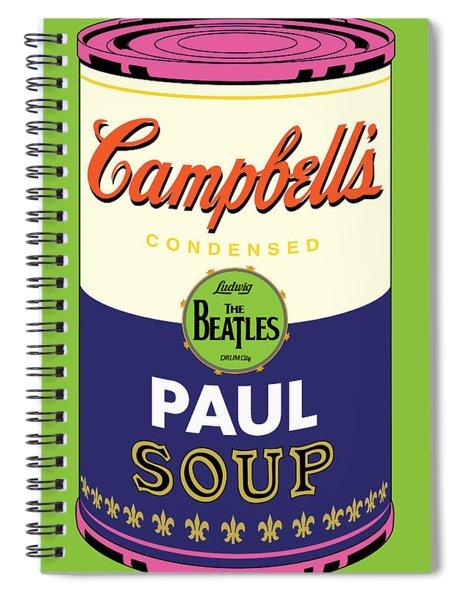 Paul Spiral Notebook