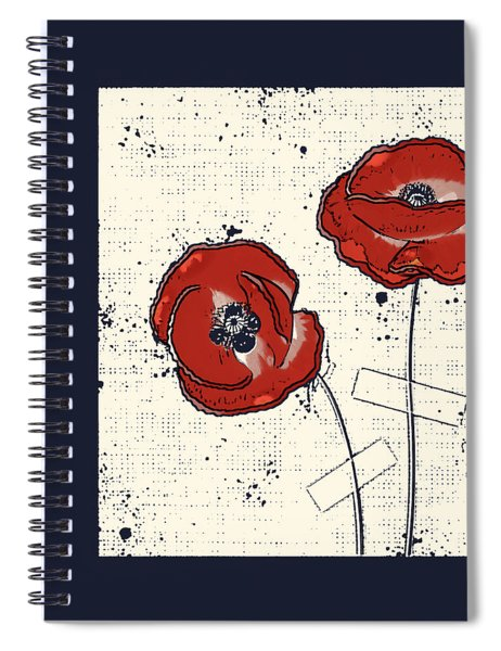 Pavot - S05-01a Spiral Notebook
