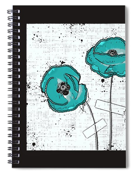 Pavot - S05-02a Spiral Notebook