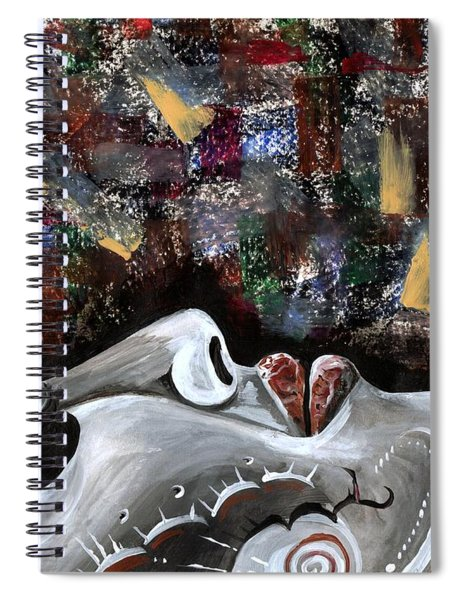 Peace Amidst Turmoil Spiral Notebook